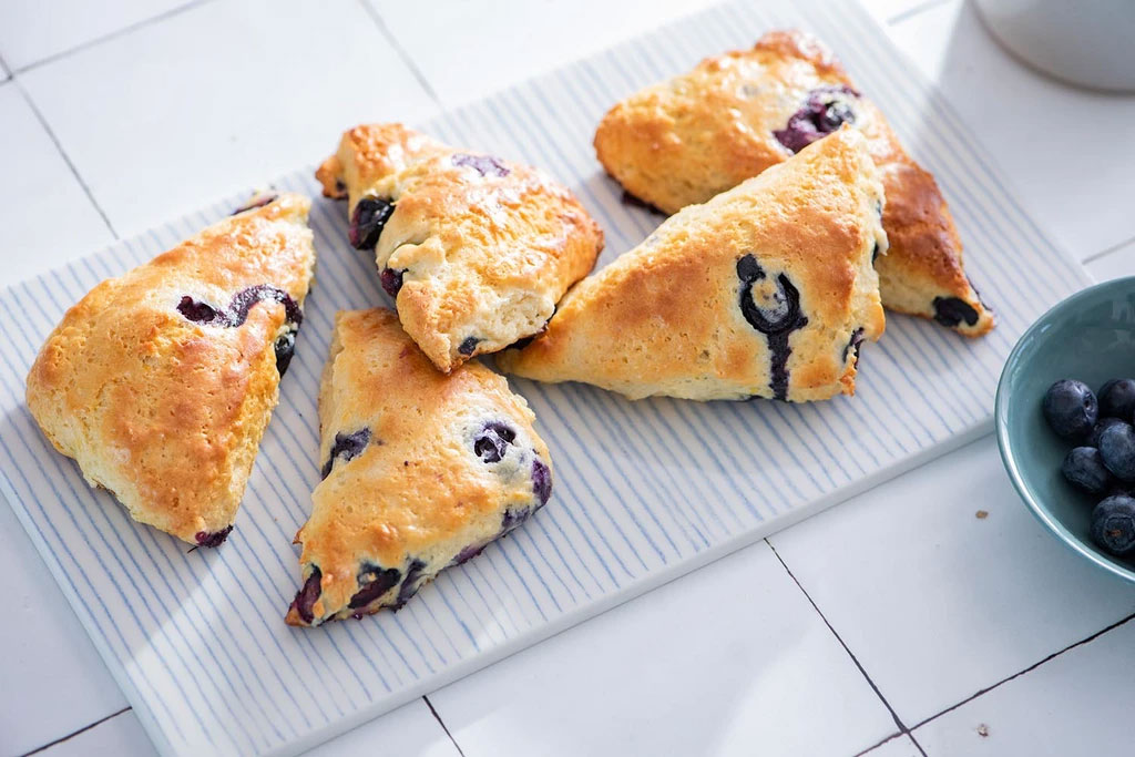 protein blueberry scones recipe post-workout